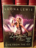 LEONA LEWIS -THE LABYRINTH TOUR - LIVE O2 ARENA(2011/SONY ) - DVD+CD NOU/SIGILAT, sony music