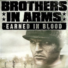 JOC WII BROTHERS IN ARMS EARNED IN BLOOD ORIGINAL PAL / STOC REAL / by DARK WADDER - Jocuri WII Ubisoft, Actiune, 16+, Single player