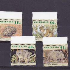 Fauna din zona, Australia. - Timbre straine