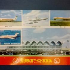 Maxima Motiv Avion Tarom Model I timbru 60 b, Transporturi