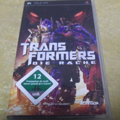 LL  joc video PSP   TRANSFORMERS