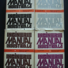 H. B. MAYNARD - MANUAL DE INGINERIE INDUSTRIALA  4 volume {1975}