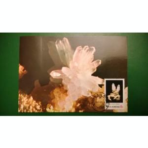 Maxima Flori de mina - Cuart si Calcit
