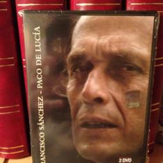 PACO DE LUCIA-FRANCESCO SANCHEZ -DUBLU  DVD SET  NOU/SIGILAT, universal records