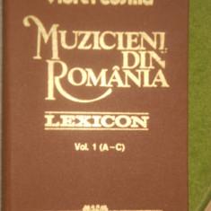 VIOREL COSMA--MUZICIENI DIN ROMANIA VOL. I - Album Arta