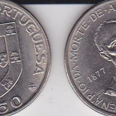 PORTUGALIA 2.50 ESCUDOS 1977 100th Anniversary - Death of Alexandre Herculano, Europa