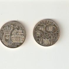 ROMANIA 50 BANI - NEAGOE BASARAB / 2012. UNC - Moneda Romania