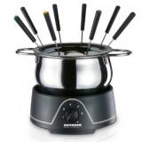 Super Oferta !Set fondue cu termostat cu 8 furculite fondue!