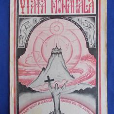 VIATA MONAHALA * REVISTA RELIGIOASA ILUSTRATA * ANUL I * No.6-7 *AUG.-SEPT.1933 - SF.MANASTIRE CETATUIA - IASI - 1933