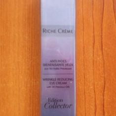 CREMA ANTIRID PENTRU OCHI - 30 DE ULEIURI PRETIOASE - RICHE CREME - YVES ROCHER