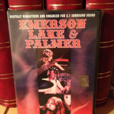 EMERSON,LAKE & PALMER -MASTERS FROM THE VAULTS (2004/INTENSE) - DVD NOU/SIGILAT