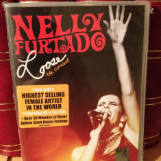 NELLY FURTADO - LOOSE THE CONCERT(2007/UNIVERSAL)-gen:DISCO/POP- DVD NOU/SIGILAT - Muzica Rock universal records