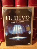 IL DIVO- LIVE IN LONDON(2012/SONY MUSIC)  - DVD  NOU/SIGILAT, sony music
