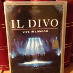 IL DIVO- LIVE IN LONDON(2012/SONY MUSIC) - DVD NOU/SIGILAT - Muzica Rock