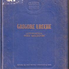 Grigore Ureche-Letopisetul Tarii Moldovei - Roman
