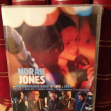NORAH JONES and THE HANDSOME BAND -LIVE IN(2004 /CAPITOL REC) - DVD  NOU/SIGILAT, capitol records