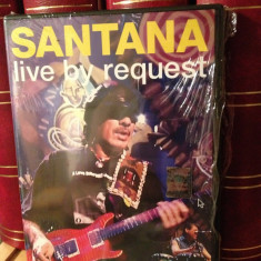 SANTANA - LIVE BY REQUEST (2005/SONY MUSIC) - DVD cu MUZICA - NOU/SIGILAT - Muzica Rock