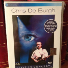 CHRIS DE BURGH-LIVE IN CONCERT (THE ROAD TO FREEDOM)-2004/BMG - DVD NOU/SIGILAT - Muzica Rock Eagle