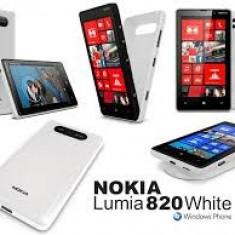 Nokia Lumia 820 White - Telefon mobil Nokia Lumia 820, Alb