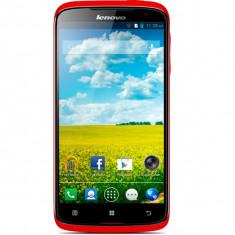 Lenovo S820 Rosu Quad Core HD - Telefon mobil Lenovo, 4GB, Neblocat, Dual SIM