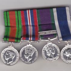 Bnk md Marea Britanie - grup 4 miniaturi decoratii navale WW II - Ordin