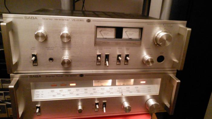 Amplificator+tuner SABA foto mare