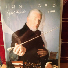 JON LORD - BEYOND THE NOTES LIVE(2004/EMI REC) -gen:ROCK - DVD NOU/SIGILAT - Muzica Rock emi records