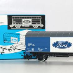 RAR 1/87 Vagon marfa Marklin H0 48159 epoca IV -FORD WERKE AG Germania - Macheta Feroviara Marklin, H0 - 1:87, Vagoane