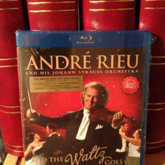 ANDRE RIEU- AND THE WALTZ GOES ON(2011/UNIVERSAL REC) - BLU-RAY - NOU/SIGILAT - Muzica Rock universal records