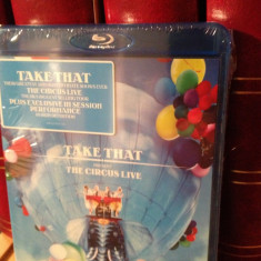 TAKE THAT - THE CIRCUS LIVE(2010/UNIVERSAL) - BLU-RAY/MUZICA/POP - NOU/SIGILAT - Muzica Rock universal records