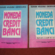 Cezar Basno, Nicolae Dardac, Constantin Floricel - Moneda. Credit. Banci -  Curs,  Aplicatii si studii de caz, Alta editura