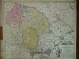 Moldova si Bucovina Principatul I. F. Carl Augsburg 1789 harta color 019