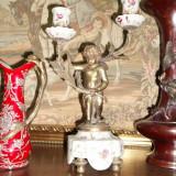 Sfesnic portelan si bronz - Metal/Fonta