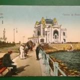 Vedere Constanta - Casino si Bulevard Circulata - Timbre