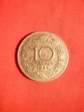 Moneda 10 Grosi 1928 Austria metal alb , cal.FF.Buna