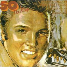 ELVIS PRESLEY GREATEST SONG 50 X KING disc vinyl rock Danny Mirror Jordanaires - Muzica Rock electrecord, VINIL