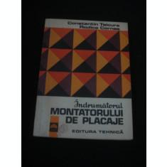 C-TIN TSICURA * RODICA CORNEA - INDRUMATORUL MONTATORULUI DE PLACAJE {1973}