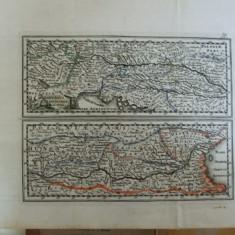 Harta color Dunarea de la izvoare pana la varsare Weigel Schneider 1796 036