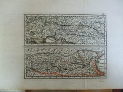 Harta color Dunarea de la izvoare pana la varsare Weigel Schneider 1796 036 foto