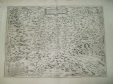 Harta A. Ortelius Transilvania sau Panodacia si Dacia Ripensis Antwerp 1575 008