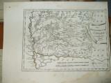 Harta color F. J. J. von Reilly Regatul Ungariei partea estica Banat 1789 007