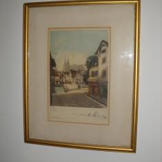 TABLOU  GRAVURA