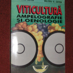 V. Cotea, V.V. Cotea - Viticultura - Ampelografie si oenologie - Carti Agronomie