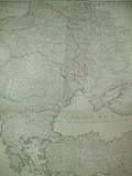 Harta Rusia Marea Neagra Moldova Valahia Baltica F. A. Schrambl Viena 1788