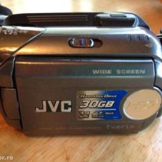 JVC Everio 30GB HDD - Camera Video JVC, Intre 2 si 3 inch, Hard Disk, CCD, 30-40x