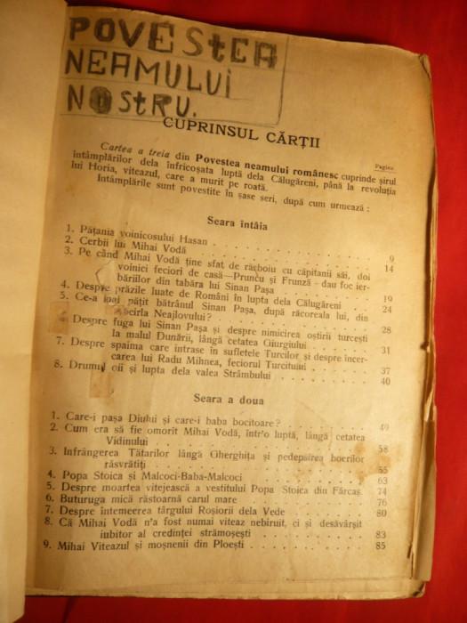 Florian Cristescu -Povestea Neamului Romanesc -vol.3 - Ed. 1943,ilustratii A.Murnu foto mare