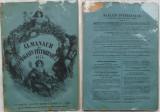 Almanach du magasin pitoresque , 1874 , 64 pagini , gravuri, Alta editura