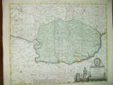 Harta color Valahia Principatus Walachiae  I. F. Carl Augsburg 1789 025