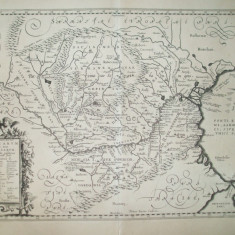 Harta Dacia Moesia descrierea oraselor Petrus Kaerius Amsterdam 1650 022