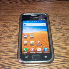 Samsung Galaxy S1 I9000 - Telefon mobil Samsung Galaxy S, Negru, 8GB, Orange